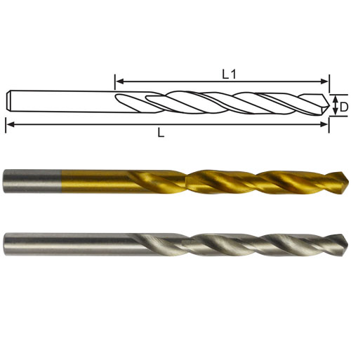 Twist Drill Bits-Half Ground