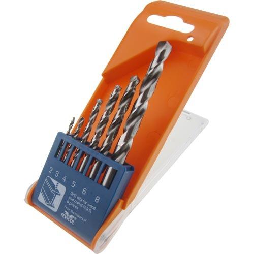 WD12060-6PCS Twist Drill Bits Set