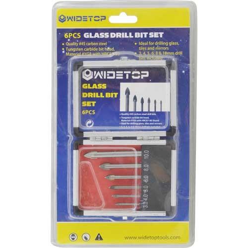 WD22060-6PCS Glass Drill Bits Set