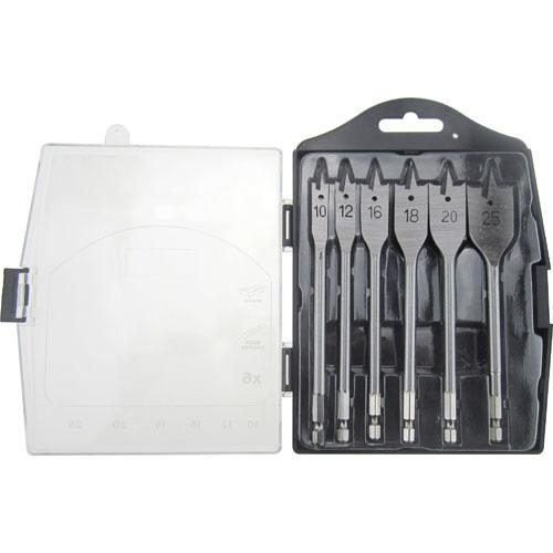 WD31061-6PCS  Flat Drill Bits Set