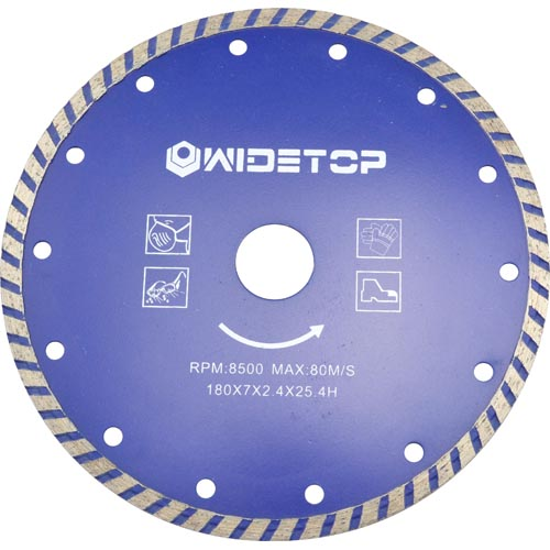 Segemented Diamond Saw Blades-cold pressed