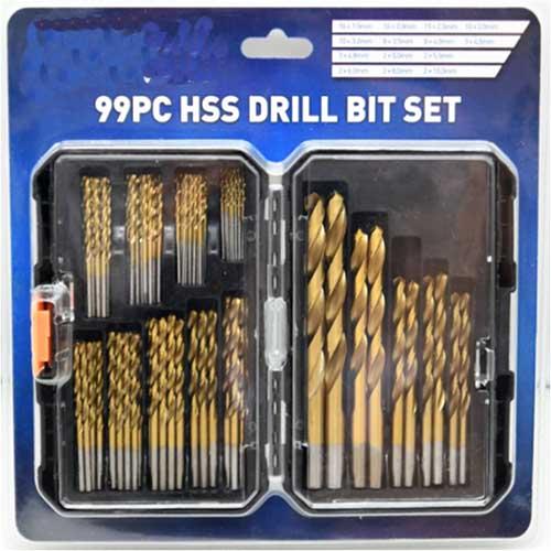WD99BM-Twist Drill Bits Set
