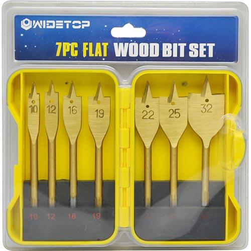 WD53307-7pcs Flat Drill Bits set