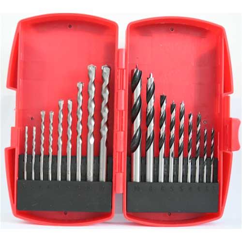 WD18A-18PCS Drill Bits Set