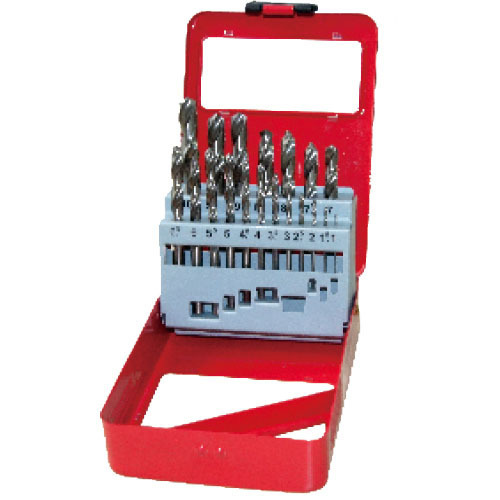 WD11191-19pcs half ground twist drill bits set