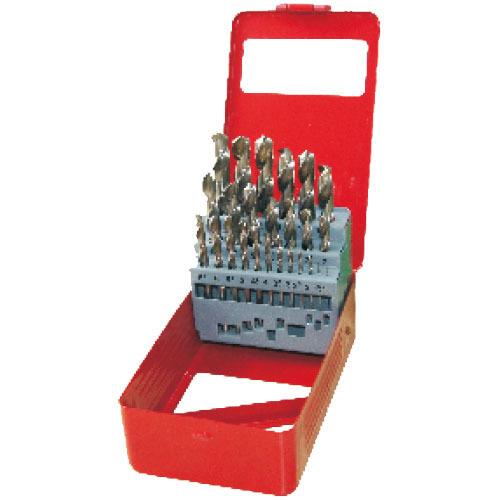 WD11251-25pcs half ground twist drill bits set
