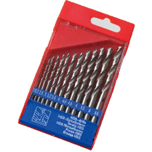 WD11130TI-13pcs half ground twist drill bits set
