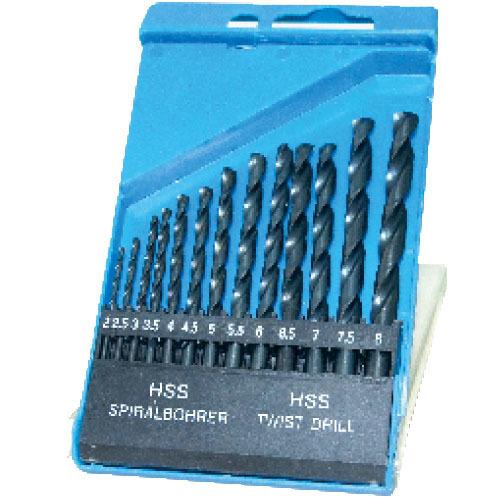 WD12131-13pcs fully ground twist drill bits set