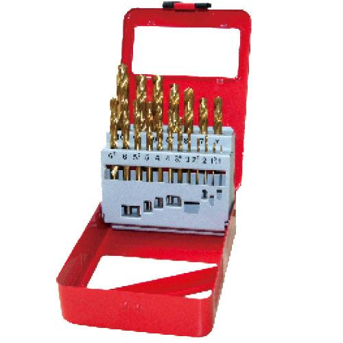 WD12191T-19pcs fully ground twist drill bits set