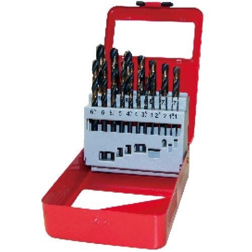 WD12191AB-19pcs fully ground twist drill bits set