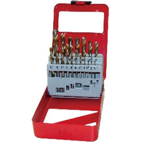 WD12191GB-19pcs fully ground twist drill bits set