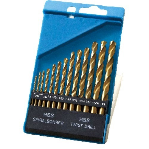 WD11130INT-13PCS half ground Twist Drill Bits Inch size