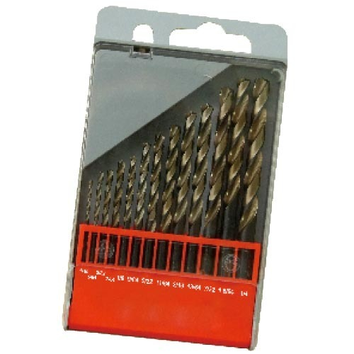 WD12130TRIIN-13PCS fully ground Twist Drill Bits Inch size multi-point