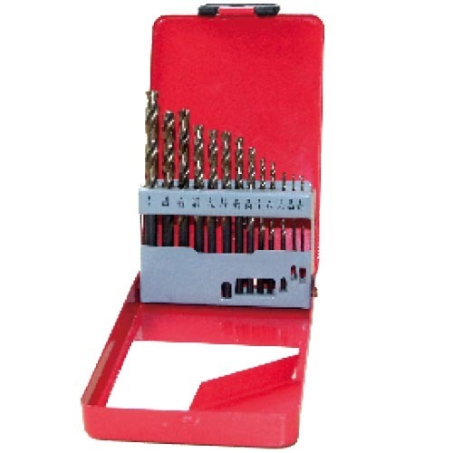 WD12132TRIIN-13PCS fully ground Twist Drill Bits Inch size multi-point