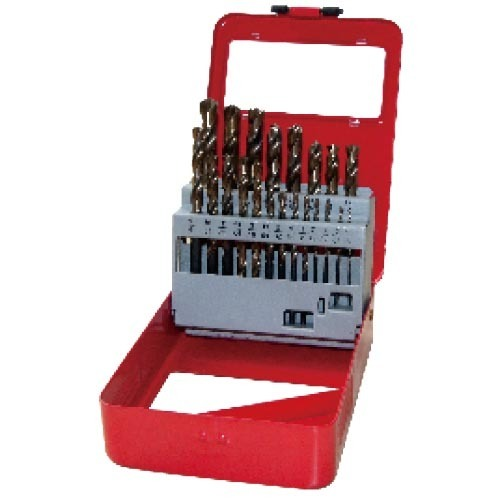 WD12211TRIIN-21PCS fully ground Twist Drill Bits Inch size multi-point