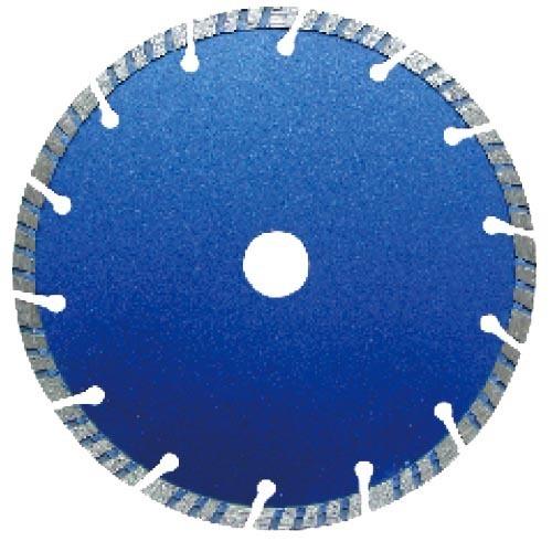 Segmented turbo diamond saw blade