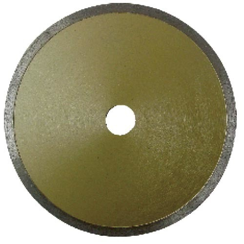 Standard continuous disamon saw blade