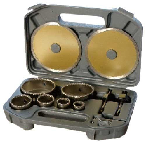WDH0110-11PCS TCT grit hole saw set