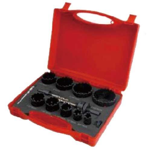 WDH0130-13pcs carbide grit hole saw set