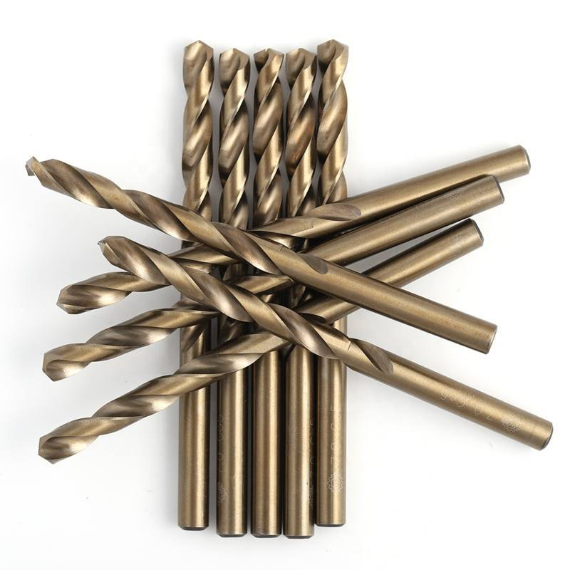 Stainless steel using cobalt drill bits