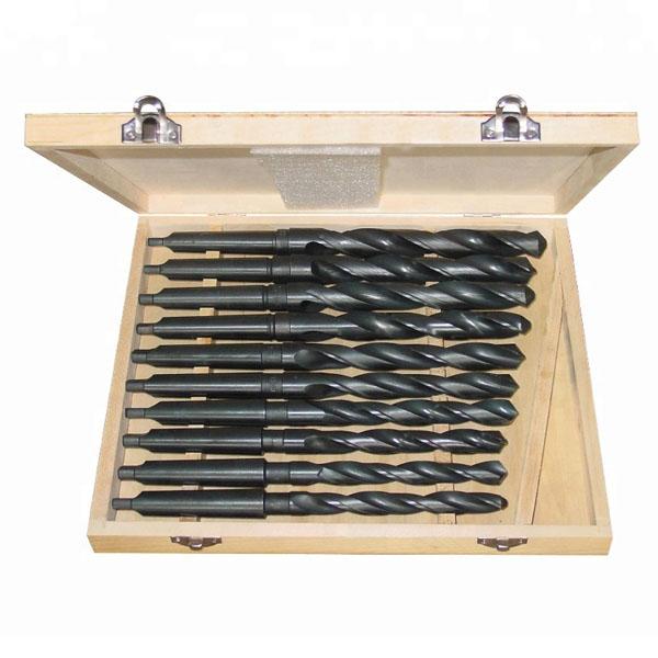WD45010-10PCS morse taper twist drill bits set