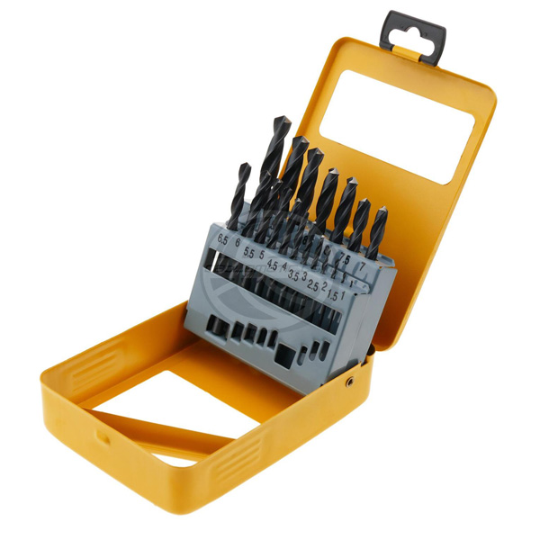 WD10191-19pcs Roll forged twist drill bits set